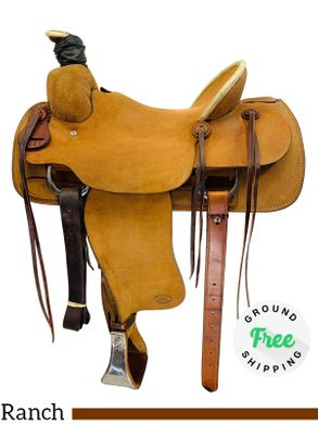 "SOLD 2019/08/16  PRICE REDUCED! 15.5"" Used Billy Cook Ranch Roper 2086 usbi4396 *Free Shipping*"