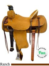 "PRICE REDUCED! 15.5"" Used Billy Cook Ranch Roper 2086 usbi4396 *Free Shipping*"