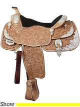 """** SALE **16"""" Billy Cook Wide Show Saddle 9002 *ON SALE NOW*"""