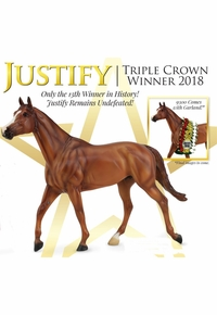 Breyer Justify Triple Crown Winner Traditional