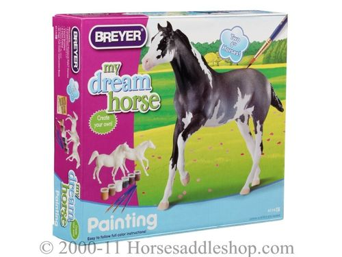 Breyer My Dream Horse - Paint Your Own Horse - Arabian and Thoroughbred 4114