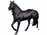 Breyer Slick by Design Barrel Racing Black Stallion 1785