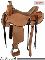 Cashel Drover Roughout Trail Saddle CD
