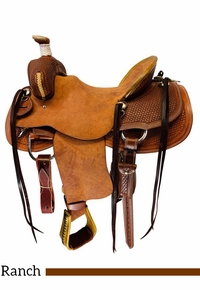 Cashel Ranch Saddle SA-CKRA-16