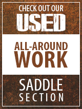 Check out our Used All-Around saddle section
