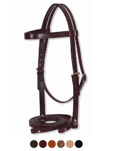 Circle Y Draft Horse Headstall with Reins 170-10