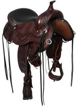 Circle Y Julie Goodnight Wind River Flex2 Trail Saddle 1750 w/Free Pad