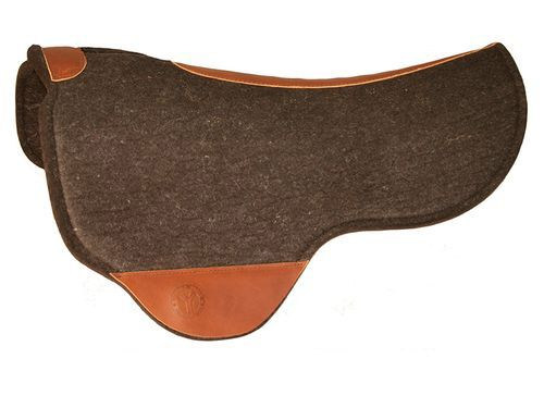 SOLD 2021/06/16  Just-B-Natural Dropped Front Round Skirt Felt Pad by Circle Y 73, CLEARANCE