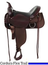 """** SALE **15"""" to 17"""" Circle Y Lady Trail Saddle 5903"""