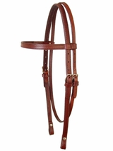 Circle Y Smooth Leather Headstall 012500