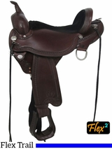 Circle Y Sheridan Flex2 Trail Saddle 1572 FLOOR MODEL 16inch Wide
