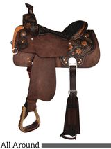 "** SALE **12"" to 16"" Circle Y All-Around Helena Saddle 2724"