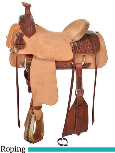 "14"" to 17"" Circle Y Hardseat Roper Saddle 2781 w/Free Pad"