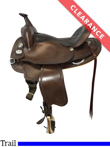 """SOLD 2021/10/01  16"""" Crates Light Ladies Trail Saddle 2120, CLEARANCE"""