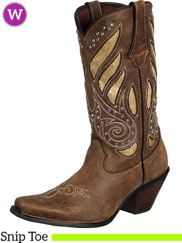 7.5B Women's Durango Crush Western Bling Boots RD003