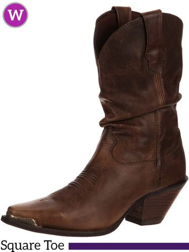8B Women's Durango Crush Brown Sultry Slouch Boots RD3494