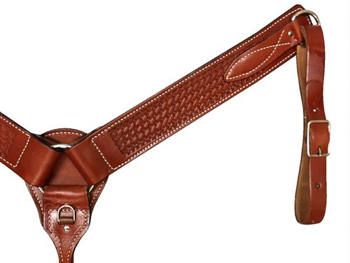 Dakota Breast Collar - Golden Brown BS-21