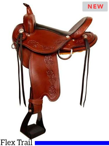 Dakota Round Skirt Trail Saddle 245