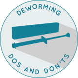 Deworming Dos and Don'ts Chart