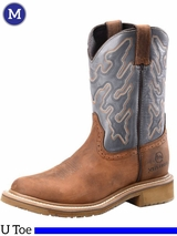 Men's Double-H ICE™ Cool Gray Roper Boots DH5146