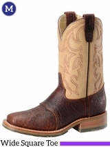 Men's Double-H ICE� Briar Bison Roper Boots DH4305