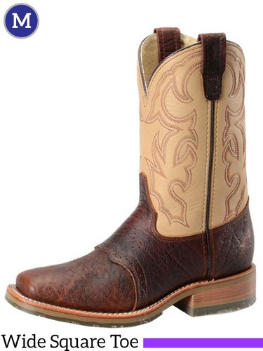 Men's Double-H ICE™ Briar Bison Roper Boots DH4305