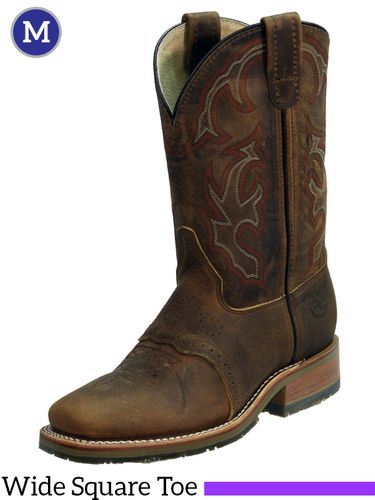 Men's Double-H ICE™ Old Town Folklore Roper Boots DH3560