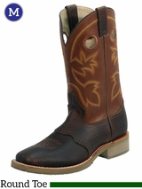 Men's Double-H Mustang Rust Western Work Boots DH5417