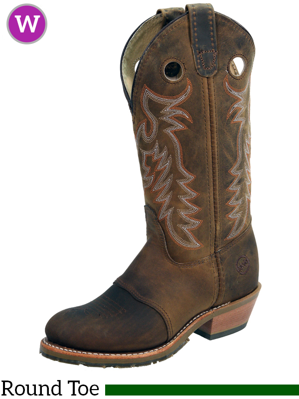 60ee83fd19c Women's Double-H ICE™ Old Town Folklore Buckaroo Boots DH5159