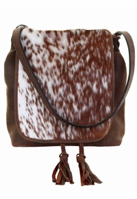 Double J Roan Cowhide Big Backpack/Crossbody BBP04