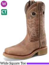 "Women's Double-H 11"" Wide Square Composite Toe ICE™ Roper Haddie DH2411"