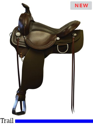 DISCONTINUED 2021/04/15  Fabtron Supreme Easy Rider Trail Saddle 7272 7274