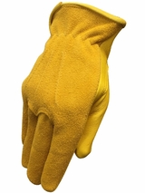 HDX Men's Suede Deerskin Work Gloves H2110208