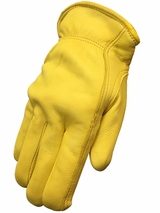 HDX Men's Fleece Lined Deerskin Gloves H2111408