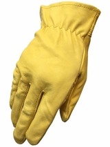 HDX Men's Goatskin Work Gloves H2110008