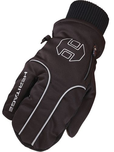 Heritage Black Arctic Winter Gloves HG297