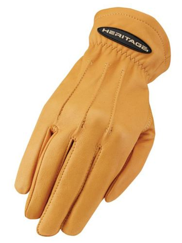 Heritage Tan Deerskin Trail Gloves HG282
