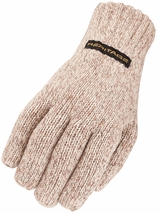 Heritage Oatmeal Ragg Wool Gloves 296
