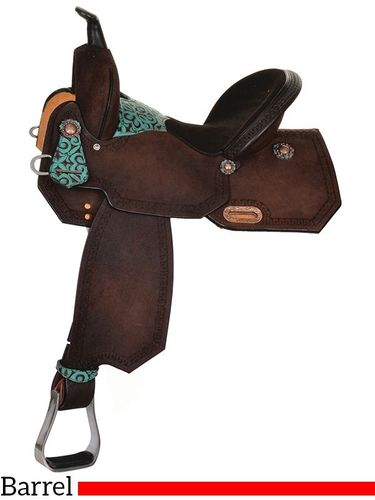 High Horse Madison Barrel Saddle 6229 w/Free Pad