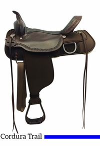 High Horse Magnolia Cordura Trail Saddle 6909 w/Free Pad