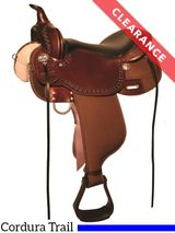 """16"""" High Horse Willow Springs Cordura Trail Saddle 6913, CLEARANCE"""