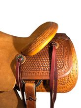 """15.5"""" to 17"""" HR Hud Roberts Ranch Cutter Saddle 320H"""