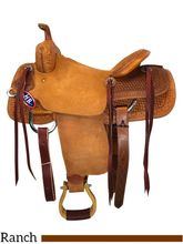 "15"" to 17"" HR Hud Roberts Signature Cutting Saddle 732H"