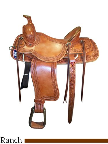 "15"" to 17"" HR Association Ranch Saddle 64"