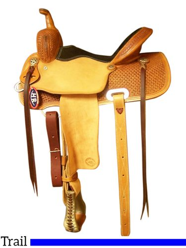 "14"" to 16.5"" HR Western Trail Saddle 400"