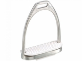 JT EquiRoyal Stainless Steel Fillis Stirrup Irons 24-3019