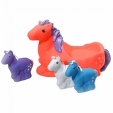 JT International 4 Piece Pony Family Bath Set 87-8105