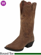 Women's Justin Tan Puma Cow Boots L2561