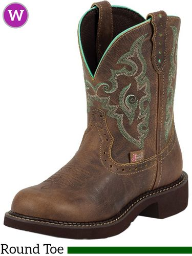 Women's Justin Gemma Brown Short Gypsy™ Boots L9606