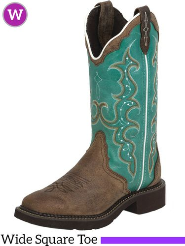 Women's Justin Raya Turquoise Gypsy™ Boots L2904